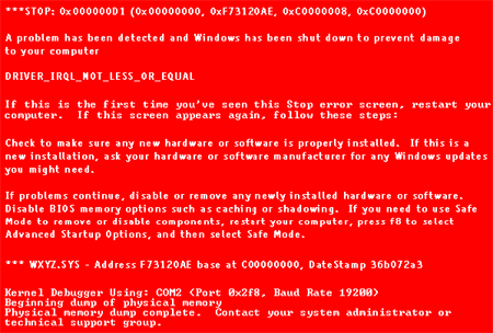 Red-BSOD
