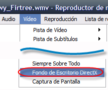 VLC Menu