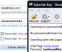 Asterik Key en acción