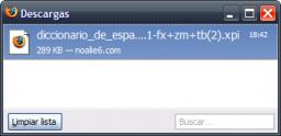 Cómo instalar el Diccionario de Español 1.1 en Firefox