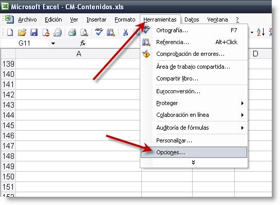 Cómo cambiar la dirección de la tecla Enter en Excel