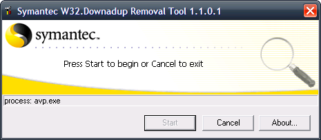 Downadup Removal Tool