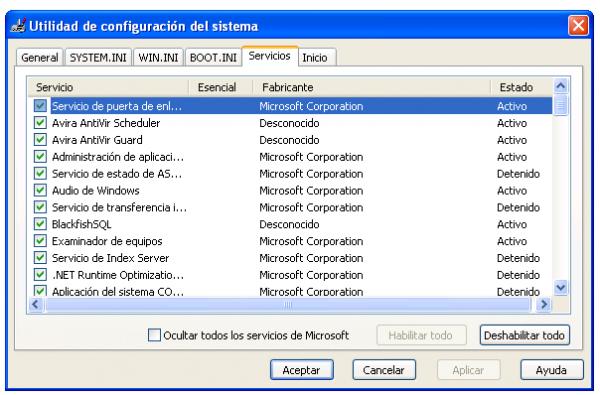 Descubre los programas ocultos de Windows XP