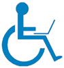 Icono de accesibilidad informática