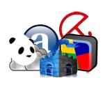 Iconos de los AV gratuitos estudiados