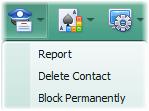 El curioso botón Report