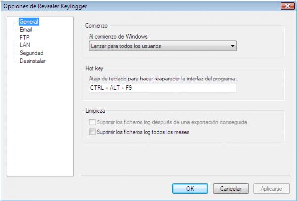 Revealer Keylogger, espía todo lo que escriben en tu PC