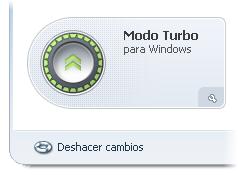 El botón del Modo Turbo