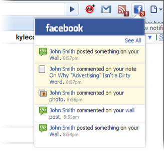 Facebook Notifier