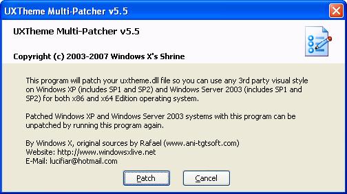 UxPatcher