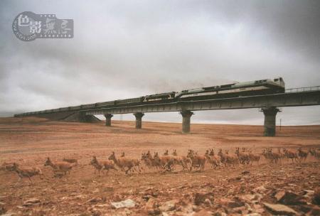 Qinghai-Tiber Railway