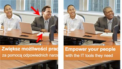 El anuncio de Microsoft Polonia