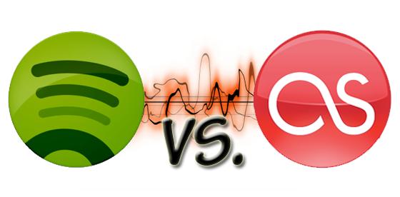 Spotify vs. Last.FM