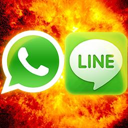 WhatsApp vs LINE: ¿cuál es mejor?