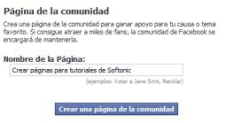 Manual de Facebook (IV): Crear una página