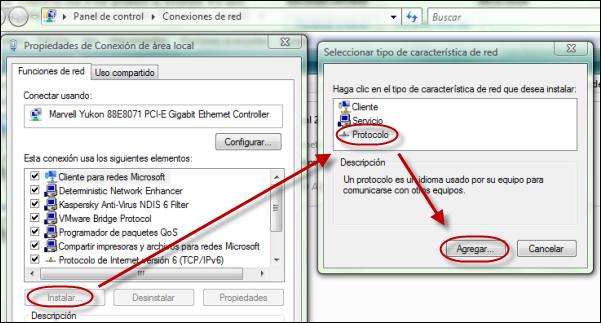 Reinstalar TCP/IP