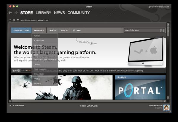 Steam para Mac: se abre la veda a los juegos en OS X