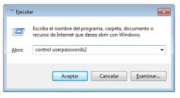 Inicio de sesión automático en Windows