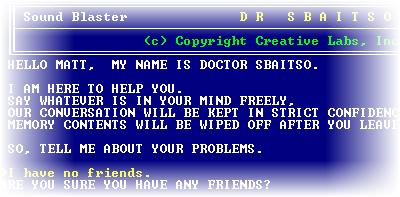 DR. Sbaitso