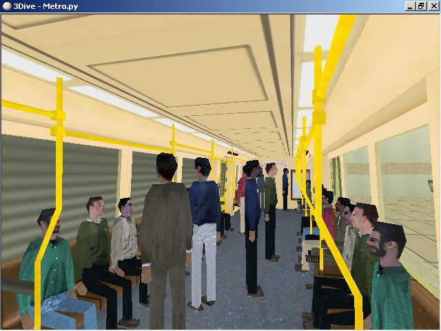 Metro - Realidad Virtual