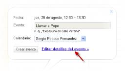 Recordar es fácil con las alertas de Google Calendar