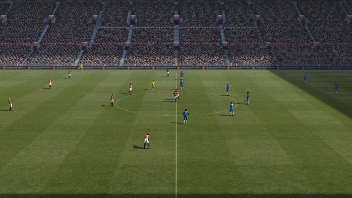 Nueva perspectiva de juego en PES 2011