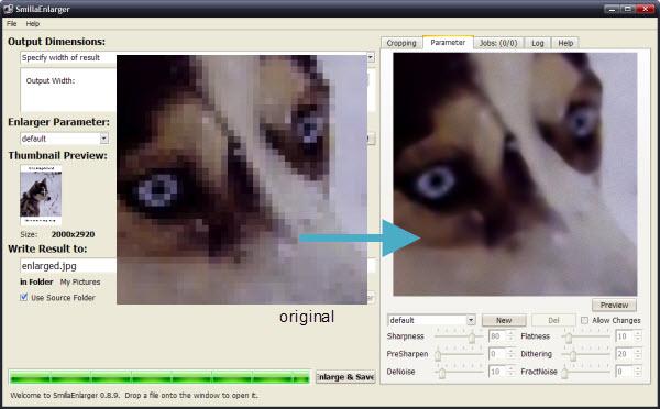 Programa para mejorar definicion de fotos
