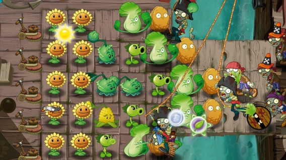 Plants vs Zombies 2 - screenshot