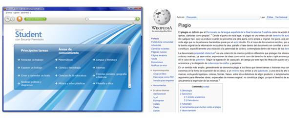 9a70357bce presentacion encarta wikipedia. c243mo detectar plagios de texto im225genes  y audio