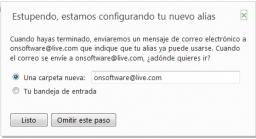 Cómo crear alias de correo en Hotmail