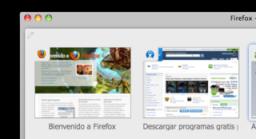 La guerra de los navegadores en Mac OS X