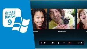 Curso de informática básica 9: chat y Skype, llama y habla