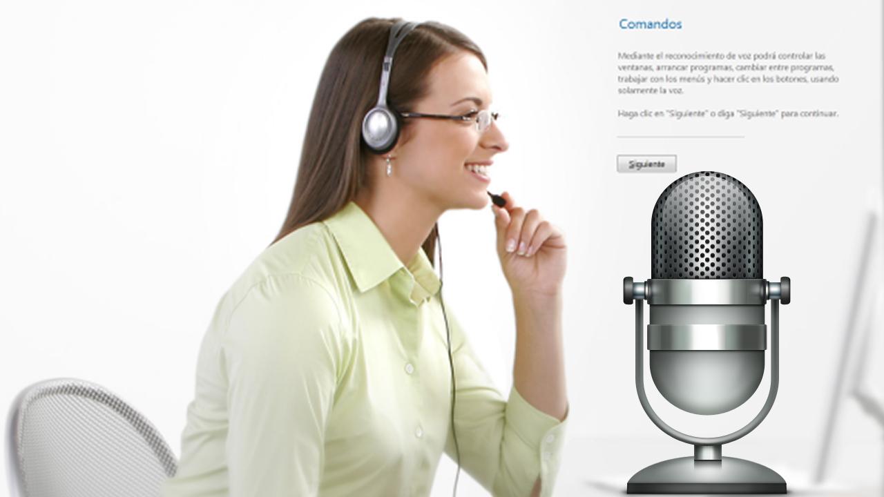 Háblale a tu Windows: usa el reconocimiento de voz