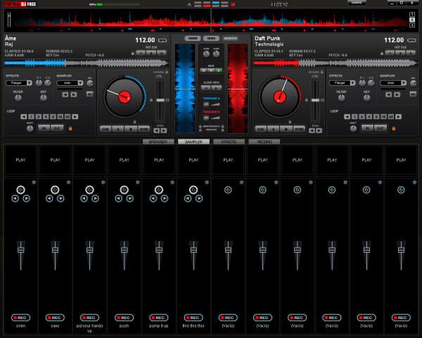 5 programas gratis para mezclar m sica como un dj for Mesa de mezclas virtual