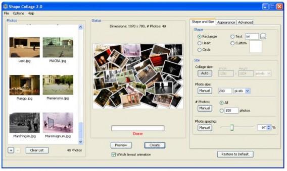 Pic collage gratis para pc en español