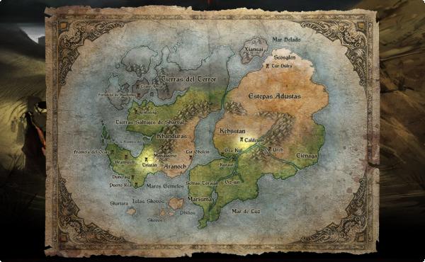 Santuario, el mundo de Diablo III