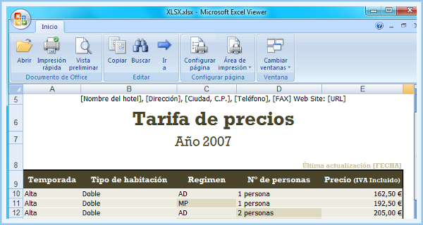 ExcelViewer