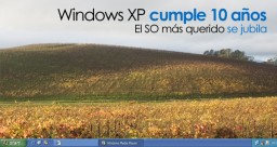 Windows XP cumple diez años