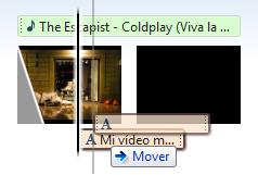 Mover el texto en WLMM