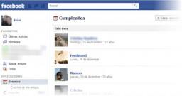 Exporta los cumpleaños de tus amigos de Facebook