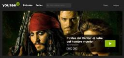 Youzee, la plataforma de películas y series en línea