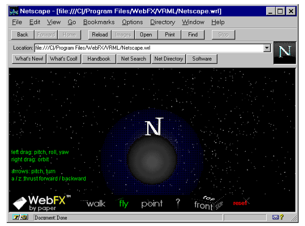 Interface do Netscape