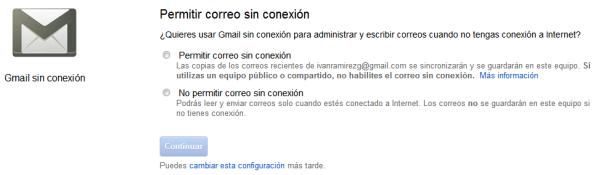 Permitir correo