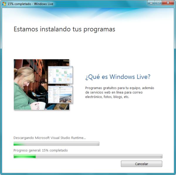 Instalando MSN 2009