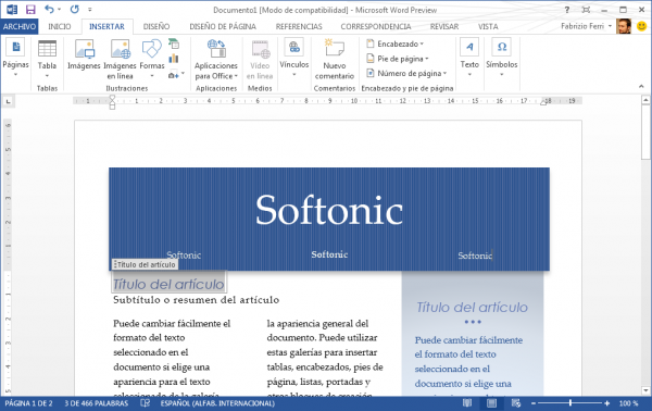 Office 2013: cambios previsibles para un paquete sin competidores