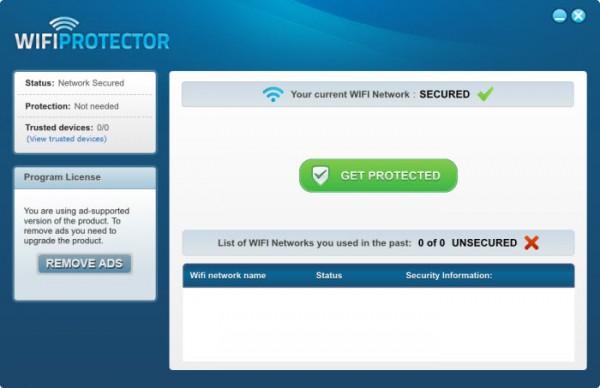 WiFi Protector: cifra y protege tu conexión a Internet