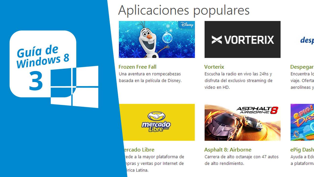 Guía de Windows 8 (3): Aplicaciones Metro y Windows Store