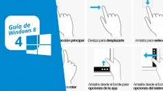 Guía de Windows 8 (4): Controles, gestos y atajos de teclado