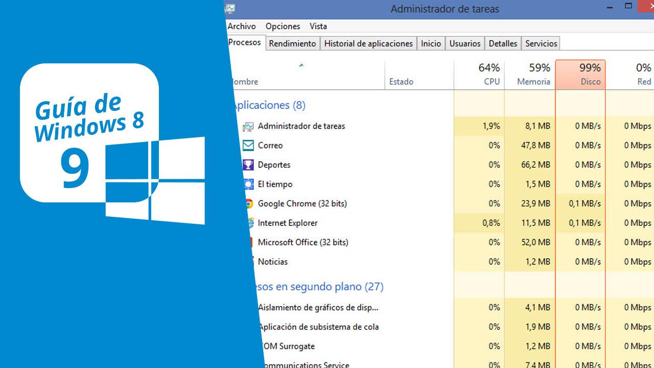 Guía de Windows 8 (9): El nuevo Administrador de Tareas