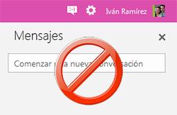 No Messenger en Outlook
